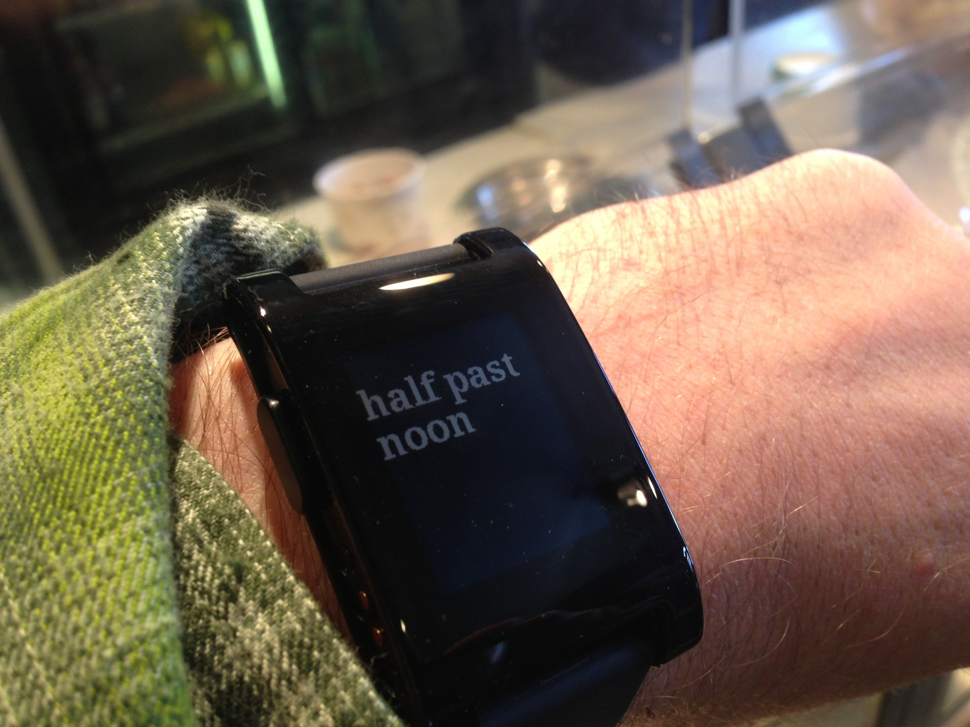 My Pebble Watch