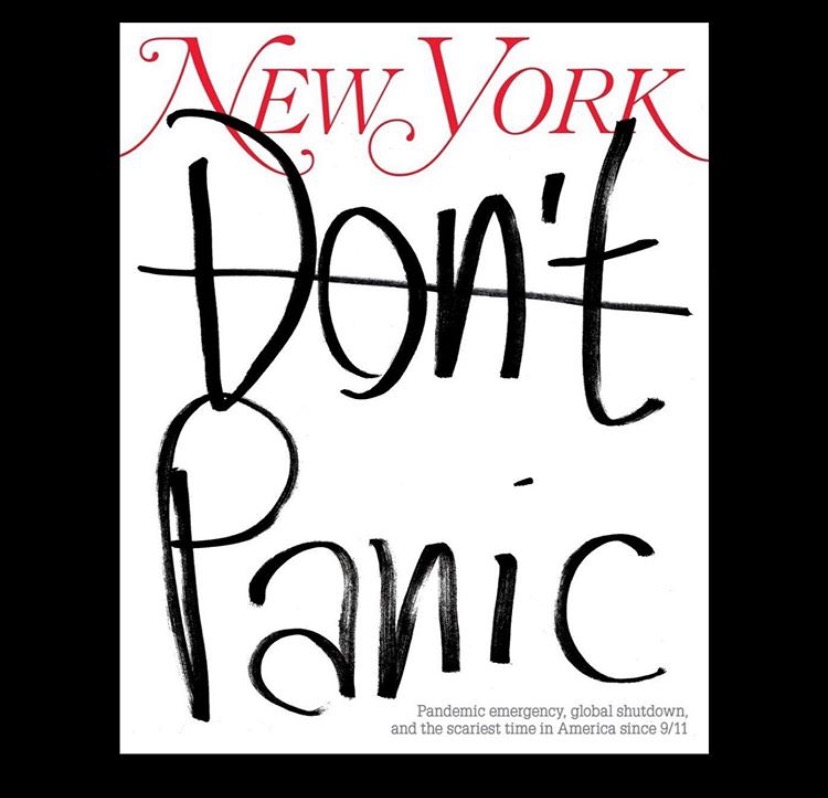 The cover of New York Magazine