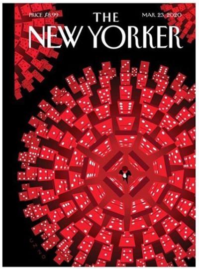 New Yorker Coronavirus Cover