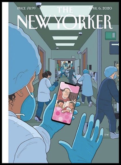 New Yorker COVID cover