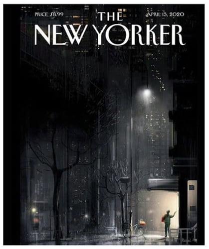 New Yorker April 2020 Cover